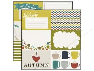 fall favorites: Echo Park 12 x 12 in. Paper Oh So Thankful Collection My Favorite (15 sheets)