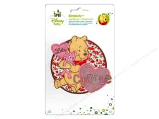 Simplicity Disney Baby Iron On Pooh Let's Cuddle