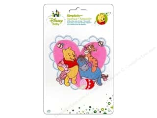 Simplicity Disney Baby Iron On Pooh And Friends Heart