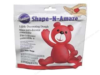 Wilton Edible Decorations Shape N Amaze Decorating Dough 6oz Red
