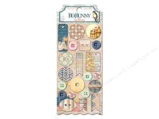 Novelty Buttons: Bo Bunny Buttons 21 pc. The Avenues