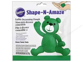Wilton Edible Decorations Shape N Amaze Decorating Dough 6oz Green