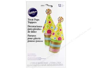 Wilton Decorations Treat Pop Toppers Birthday Hat 12pc