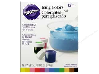 Wilton Icing Colors 12 pc.