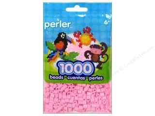 beading & jewelry making supplies: Perler Beads 1000 pc. Light Pink