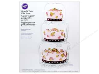 Wilton: Wilton Containers Cake Stand Graceful Tiers 11pc