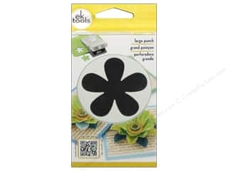 EK Success Large Punch Retro Flower 2 1/4 in.