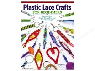 Clearance Books: Design Originals Plastic Lace Crafts For Beginners Book