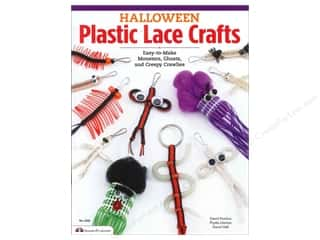 Design Originals Halloween Plastic Lace Crafts Book