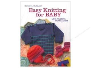 Crochet & Knit: That Patchwork Place Easy Knitting For Baby Book by Doreen L. Marquart