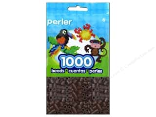 beading & jewelry making supplies: Perler Beads 1000 pc. Brown