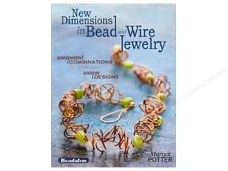 beading & jewelry making supplies: North Light New Dimensions In Bead And Wire Jewelry Book by Margot Potter