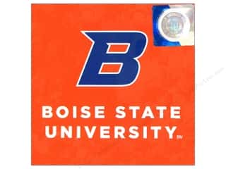 die cuts: Sports Solution Logo Card Set Boise State