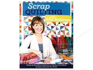 C&T Publishing Scrap Quilting with Alex Anderson Book