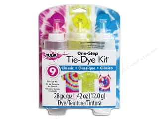 craft & hobbies: Tulip One Step 3-Color Tie Dye Kits Classic