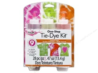 tie dye kit: Tulip Dye Kits One Step Tie 3 Color Tropical Twist