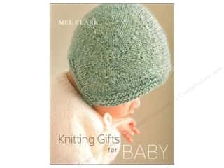 plastic canvas square: Knitting Gifts For Baby Book by Mel Clark
