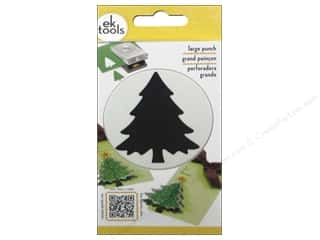 scrapbooking & paper crafts: EK Success Large Punch Christmas Tree 2 3/8 in.