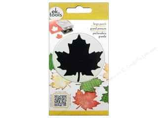 scrapbooking & paper crafts: EK Success Large Punch Maple Leaf 2 3/8 in.