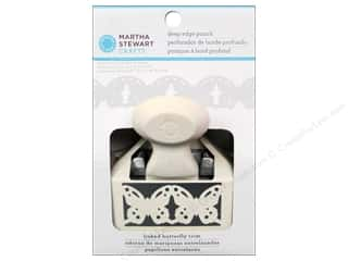 Martha Stewart Deep Double Edger Punch Linked Butterfly Trim