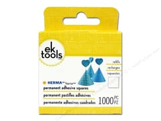 glues, adhesives & tapes: EK Herma Vario Square Refill 1000 pc