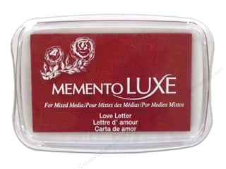 memento ink pad: Tsukineko Memento Luxe Ink Pad Large Love Letter