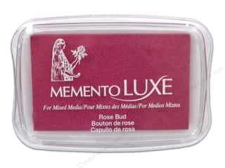 memento luxe pigment: Tsukineko Memento Luxe Ink Pad Large Rose Bud