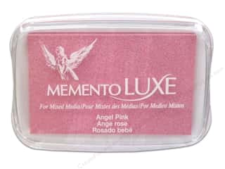 stamps: Tsukineko Memento Luxe Ink Pad Large Angel Pink