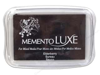 Ink Pad: Tsukineko Memento Luxe Ink Pad Large Elderberry