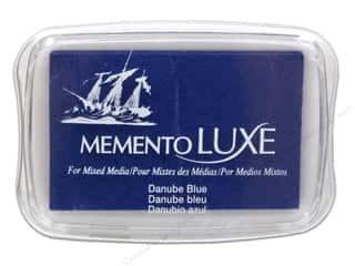 stamps: Tsukineko Memento Luxe Ink Pad Large Danube Blue
