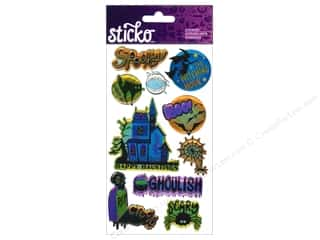 EK Sticko Stickers Ghoulish Halloween