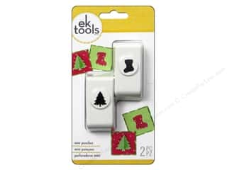 EK Punch Mini 2pc Tree And Stocking