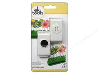 EK Paper Shapers Punch Mini Buttons and Holes 2 pc