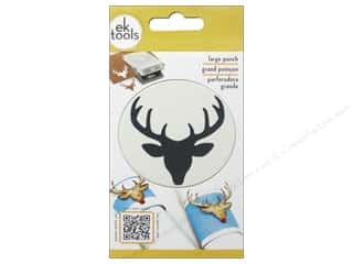 Punch Revitalizer / Punch Sharpener: EK Paper Shapers Punch Large Deer Head