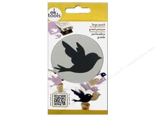 scrapbooking & paper crafts: EK Success Large Punch Bird 2 1/2 in.