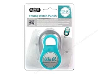 Scrapbooking Sale We R Memory Lucky 8 Punches: We R Memory Punch Albums Made Easy Thumb Notch