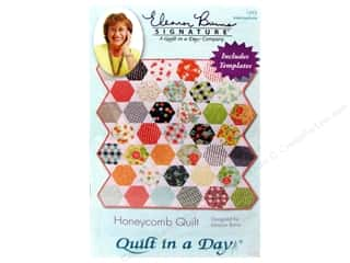 Quilt Pattern: Quilt In A Day Honeycomb Quilt Pattern