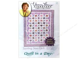 Quilting: Quilt In A Day Swirling Stars Quilt Pattern