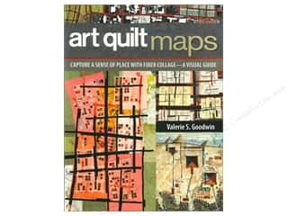 C&T Publishing Art Quilt Maps Book by Valerie S. Goodwin