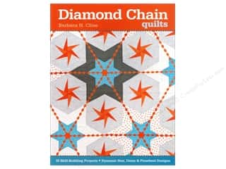 C&T Publishing Diamond Chain Quilts Book by Barbara Cline