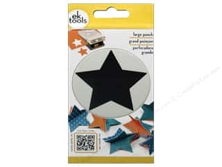 scrapbooking & paper crafts: EK Success Large Punch Star 2 3/8 in.