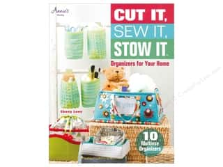 Annie's Cut It, Sew It, Stow It Book by Ebony Love