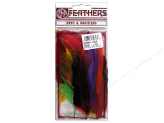 craft & hobbies: Zucker Feather Duck Satinette Feathers .05 oz. Tropical Mix