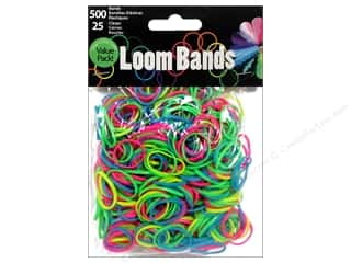 Best of 2013 Midwest Design Loom Bands: Midwest Design Loom Band Assorted Glow In Dark 525 pc.
