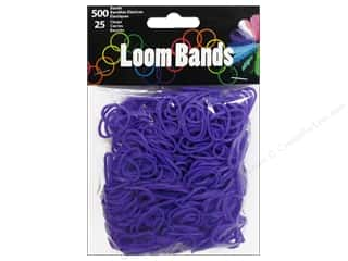 Best of 2013 Midwest Design Loom Bands: Midwest Design Loom Band Purple 525 pc.