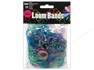 Best of 2013 Midwest Design Loom Bands: Midwest Design Loom Bands 525 pc. Glitter Assorted