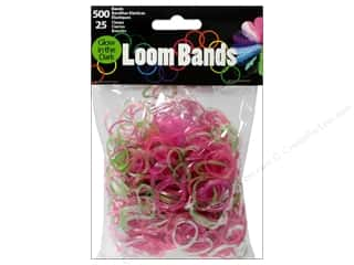 Best of 2013 Midwest Design Loom Bands: Midwest Design Loom Band Glow In Dark Assorted 525pc