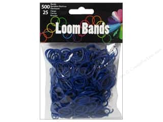 Best of 2013 Midwest Design Loom Bands: Midwest Design Loom Band Dark Blue 525pc