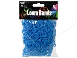 Best of 2013 Midwest Design Loom Bands: Midwest Design Loom Band Blue 525pc
