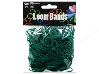Best of 2013 Midwest Design Loom Bands: Midwest Design Loom Bands 525 pc. Dark Green